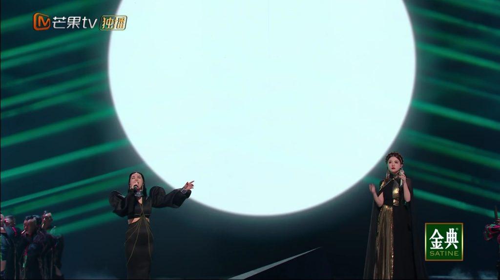 阿朵阿兰同台演唱