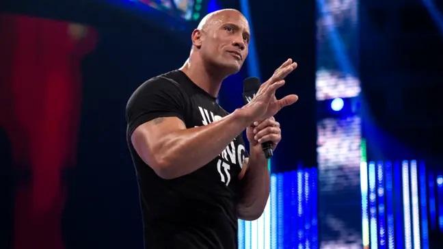 WWE巨石强森