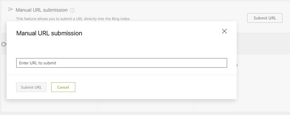 手动提交URL