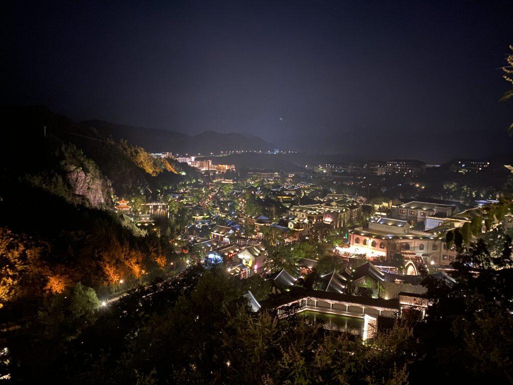 古北水镇夜景