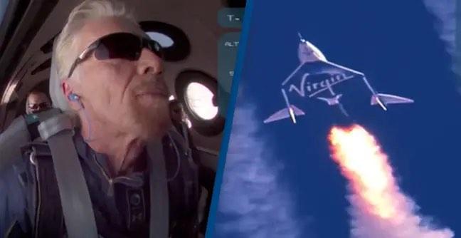 理查德·布兰森进入太空