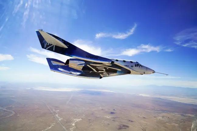 维珍银河火箭飞机